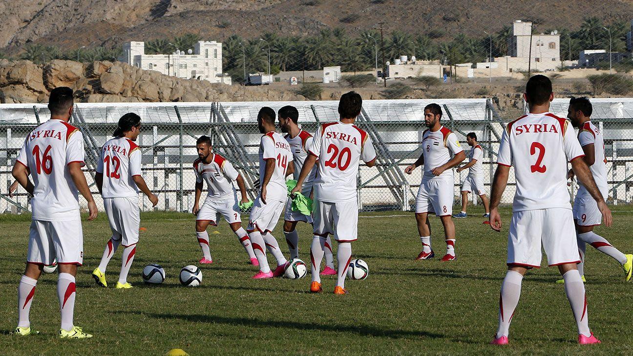 football syria singapore