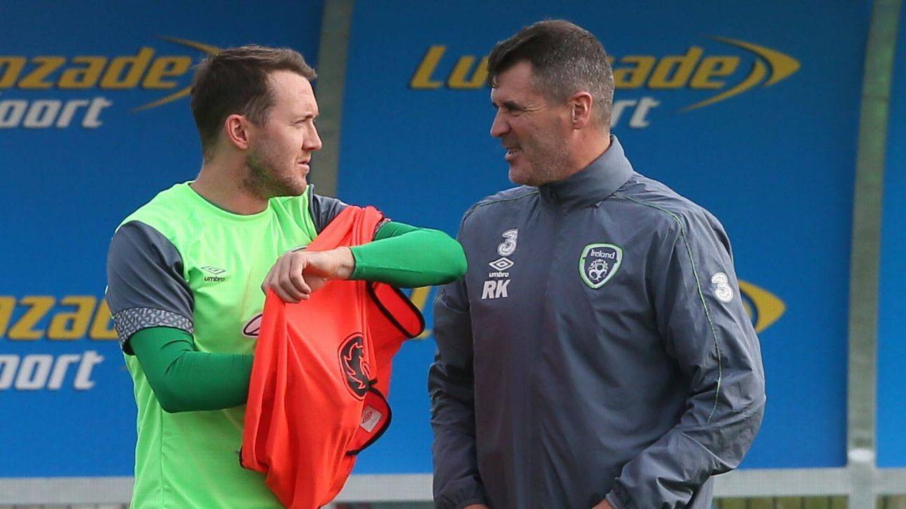 Aiden McGeady Roy Keane Republic Ireland Bosnia