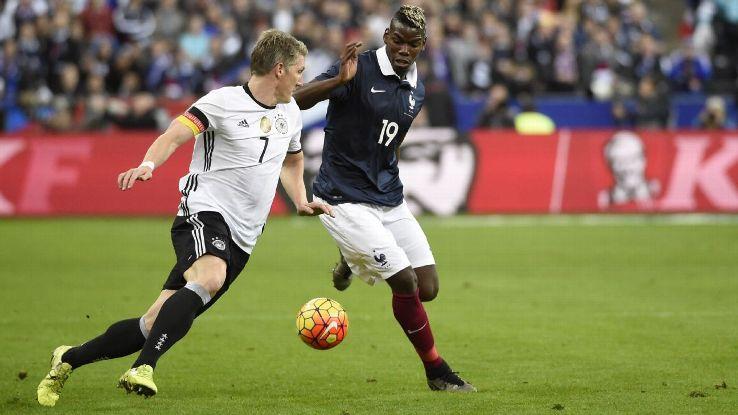 Paul Pogba France Germany