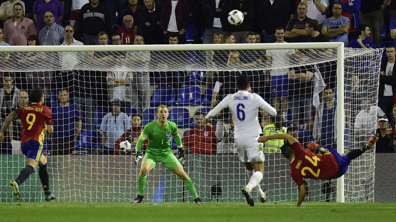 Mario Spain England goal
