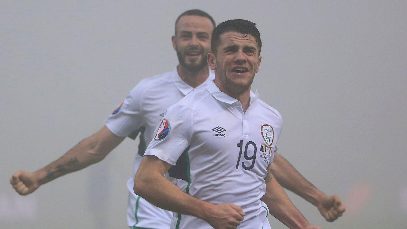 Robbie Brady Bosnia Republic Ireland celeb