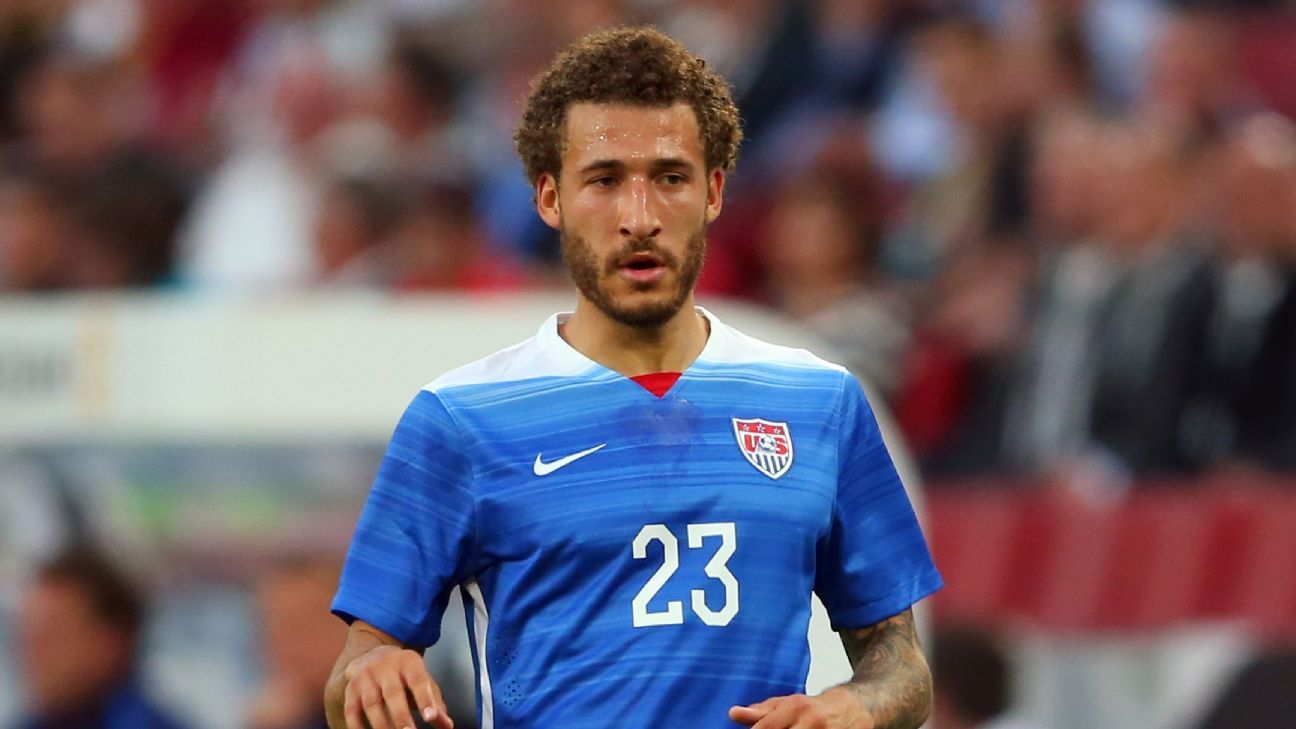 Fabian Johnson thrived in a midfield role for the U.S.