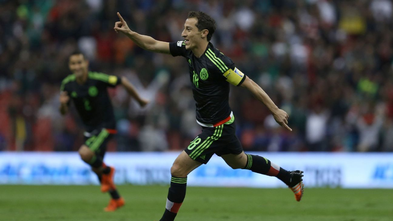 Andres Guardado helped settle any early nerves by rifling in a first-half free kick.