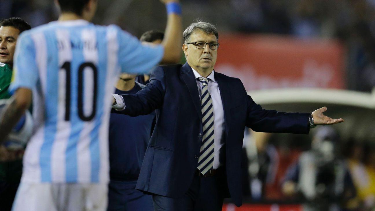 Gerardo Martino Argentina vs. Brazil 151114