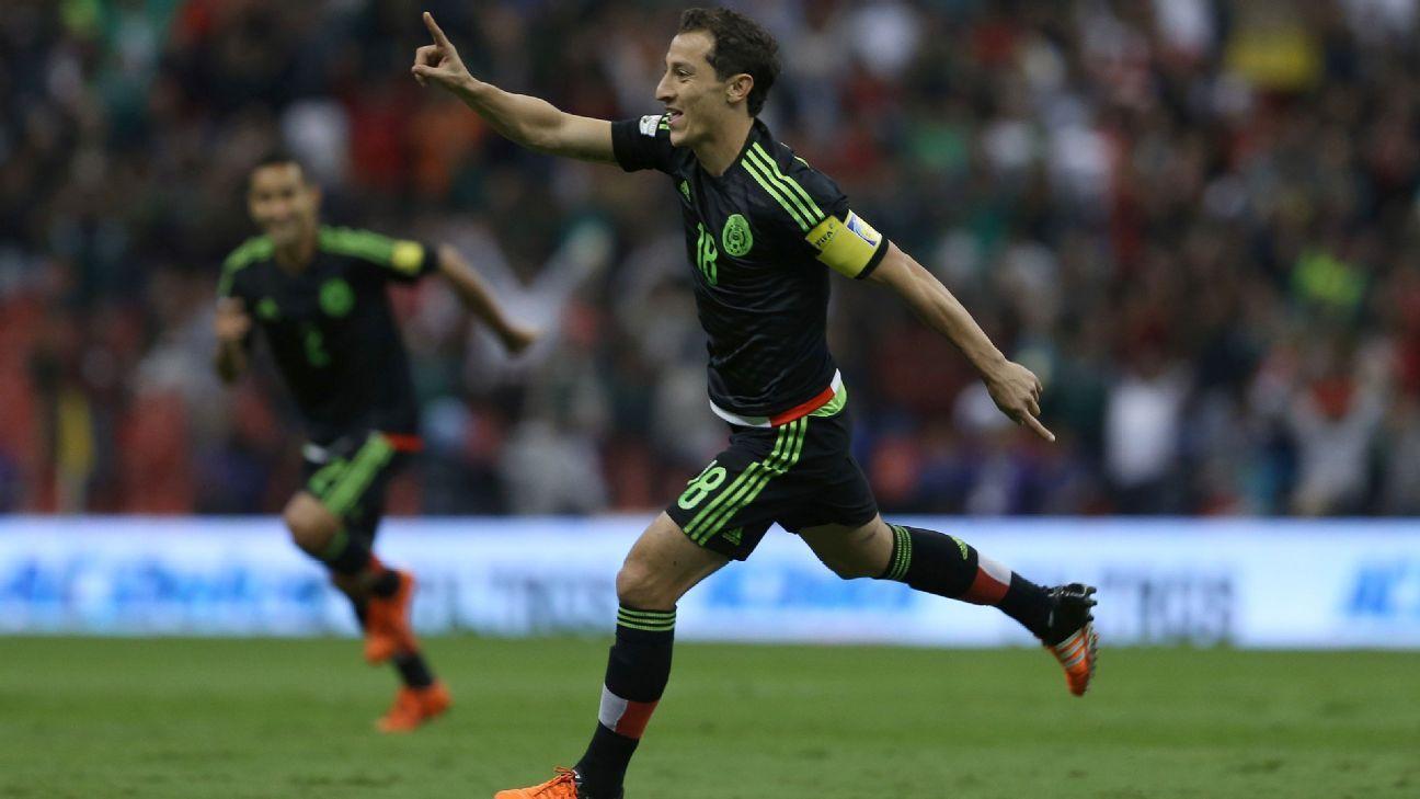 Andres Guardado Mexico vs. El Salvador 151114
