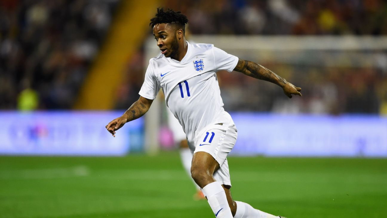 Raheem Sterling is part of a group of England players who are getting plenty of senior team chances at an early age.