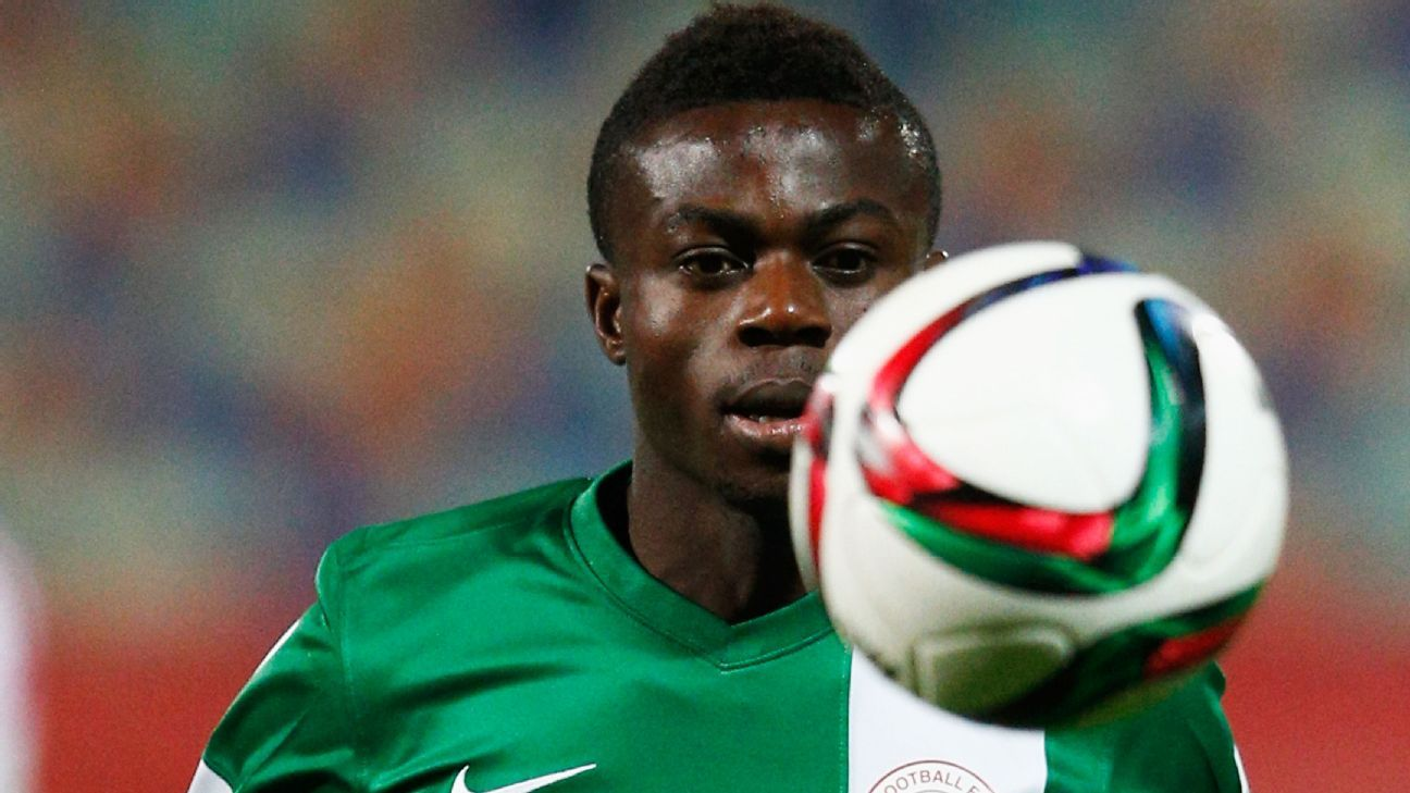 Moses Daddy Simon struck in the 51st minute to give Nigeria a 1-0 advantage.