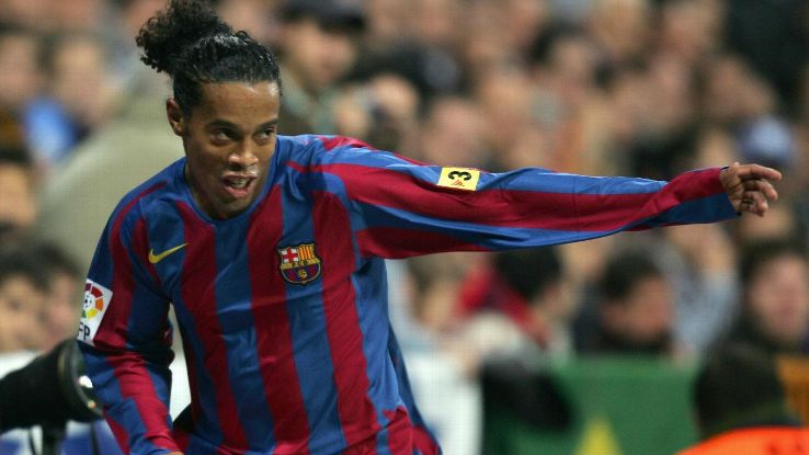Ronaldinho's performance in a 2005 Clasico even brought the Real Madrid fans to their feet.