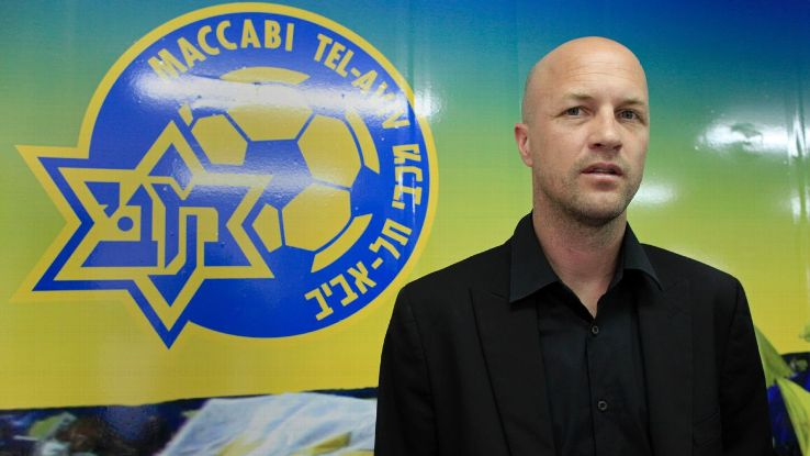 Jordi Cruyff became sporting director at Maccabi Tel-Aviv in 2012 before becoming their manager in 2017