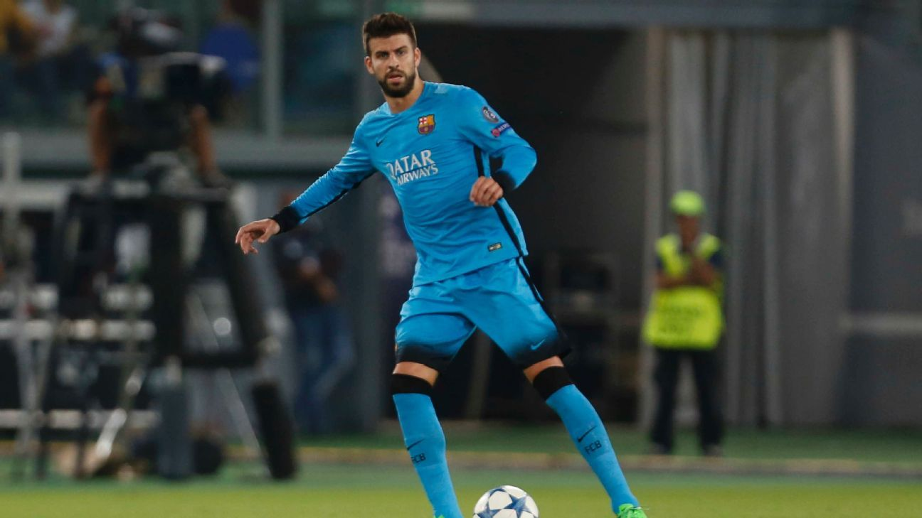 Gerard Pique and the Barcelona back line will have their hands full in dealing with Real Madrid's potent attack.