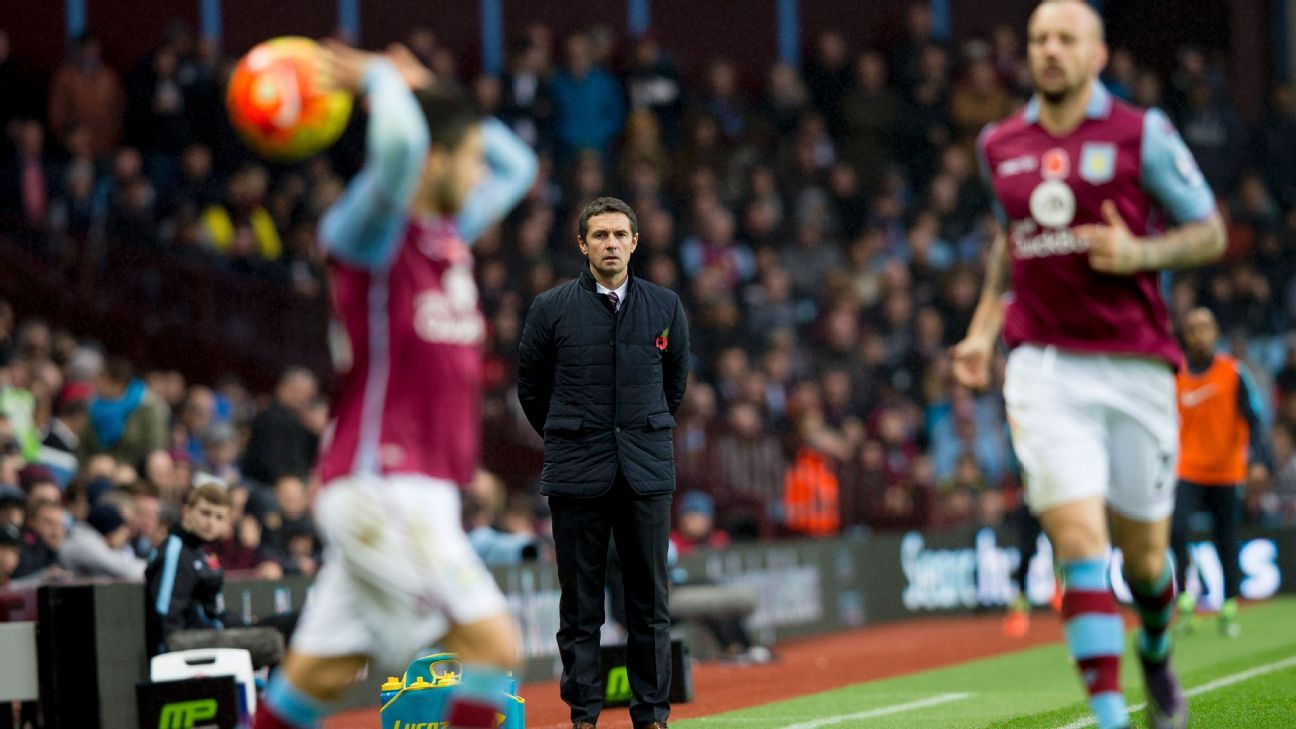 Aston Villa boss Remi Garde faces some key lineup decisions ahead of his team's visit to Everton.