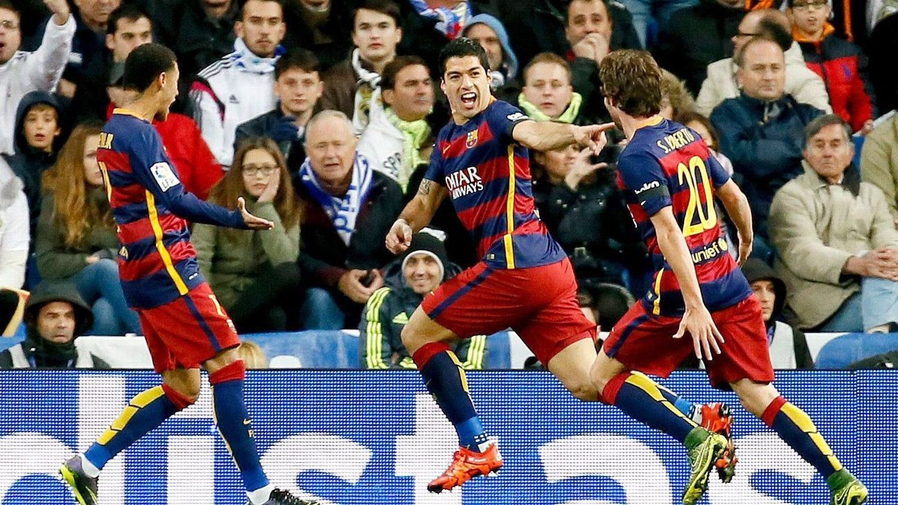 Barcelona's attack was a well-oiled machine in their takedown of Real Madrid.