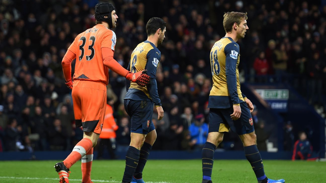 First-half defensive errors cost Arsenal dearly at The Hawthorns.