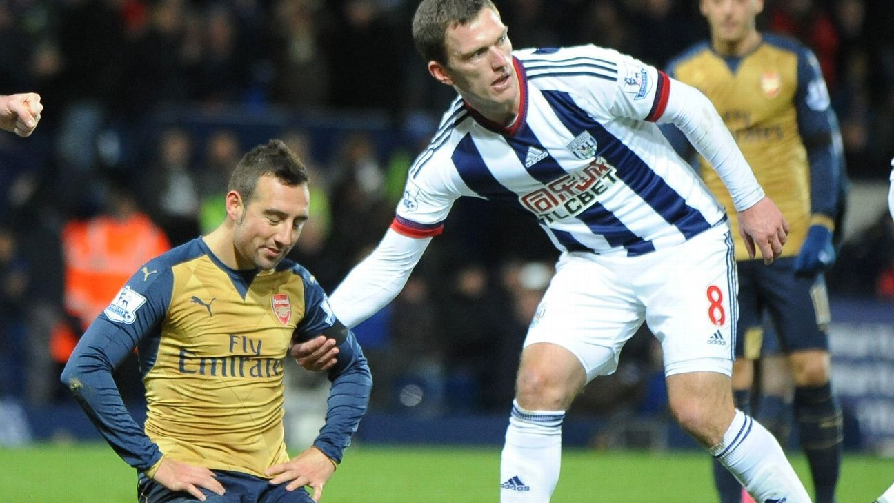 Santi Cazorla's missed penalty capped off a dismal day for the Gunners.