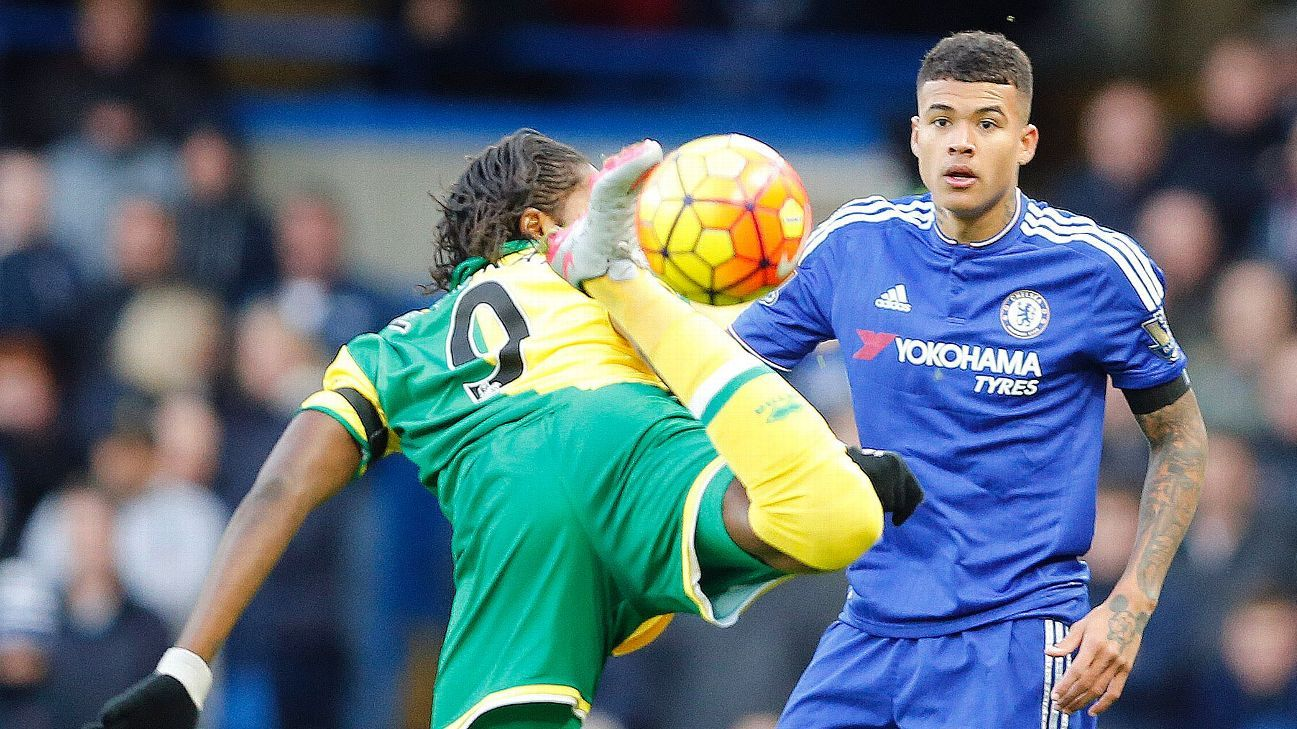Kenedy's composed performance in defence helped Chelsea secure a clean sheet against Norwich.