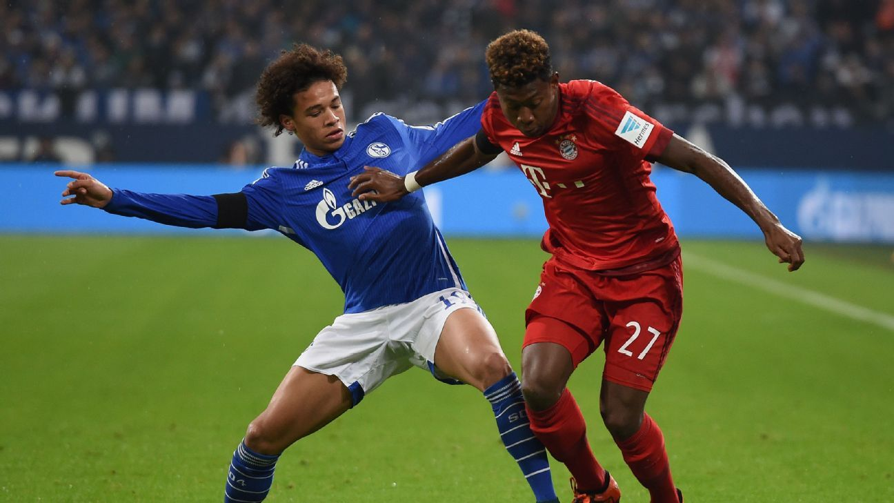 David Alaba helped Bayern overcome a tough Schalke side to remain unbeaten in the Bundesliga.