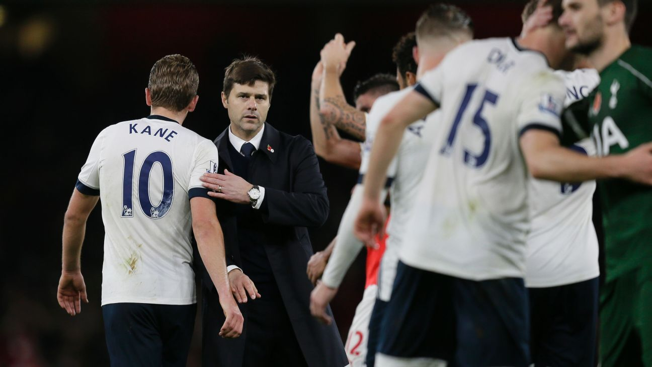 While Leicester City are generating much of the attention, Mauricio Pochettino's Tottenham have quietly become a title contender.