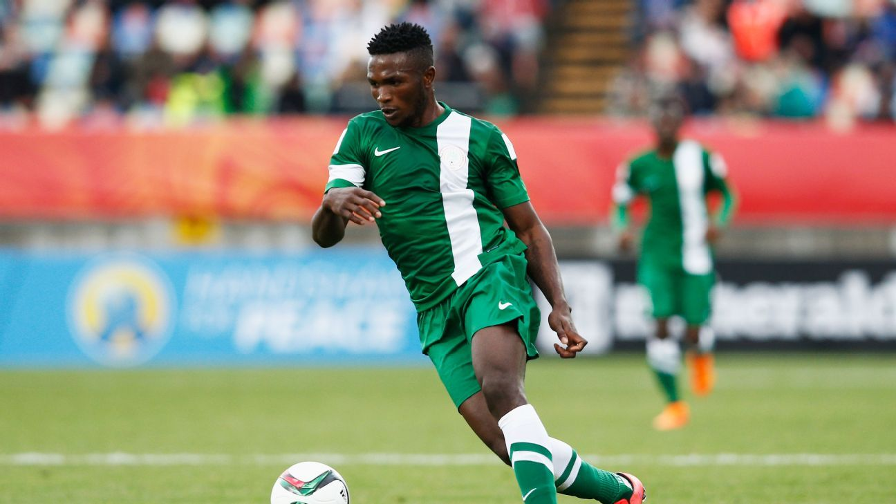 Isaac Success enjoyed a solid 2015 Under-20 World Cup with Nigeria, scoring twice in the group stage.