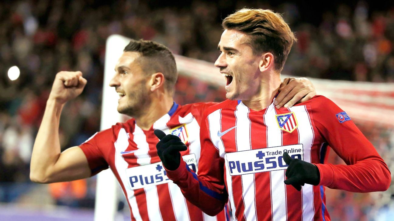 Antoine Griezmann bagged a brace to help Atletico collect all three points against Galatasaray.
