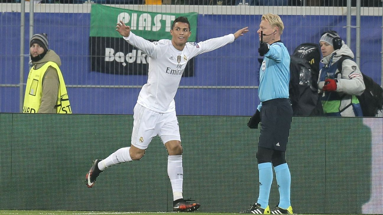 Cristiano Ronaldo now has seven Champions League goals in five matches following Wednesday's 4-3 win at Shakhtar.