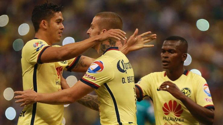 Club America rebounded from an early deficit to down Leon 4-1 in the first leg of their Liguilla quarterfinal.