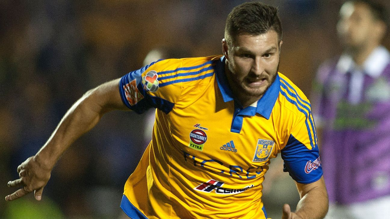 Andre-Pierre Gignac has scored 12 goals since his arrival to Tigres last summer.