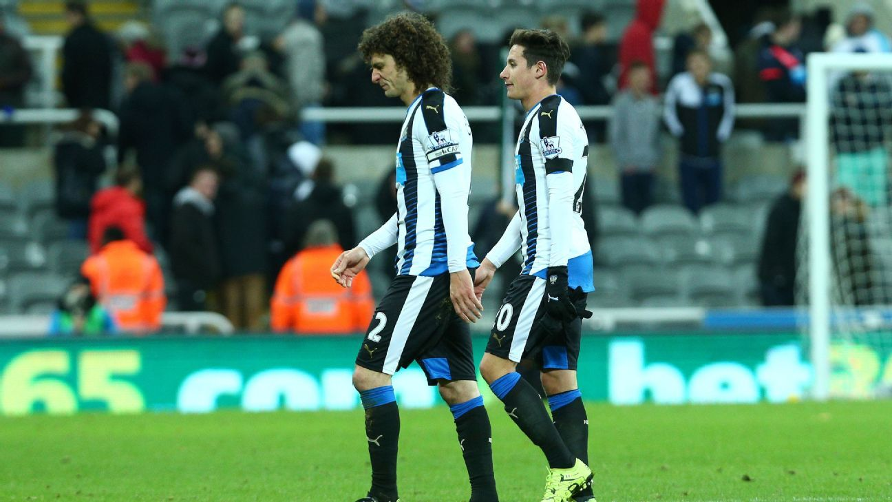 Outside of wins against the Premier League's newly promoted sides, Newcastle have had little success this season.