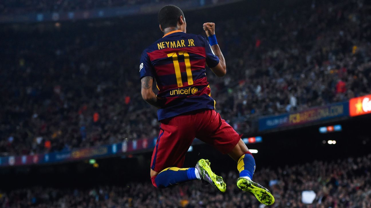 No player stepped up more for Barcelona while Lionel Messi was injured than Neymar.