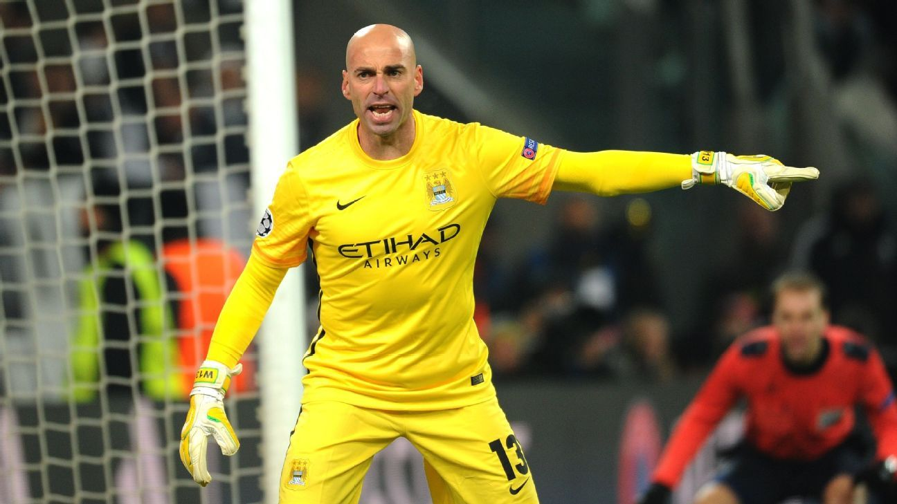willy caballero to continue to start in city cup
