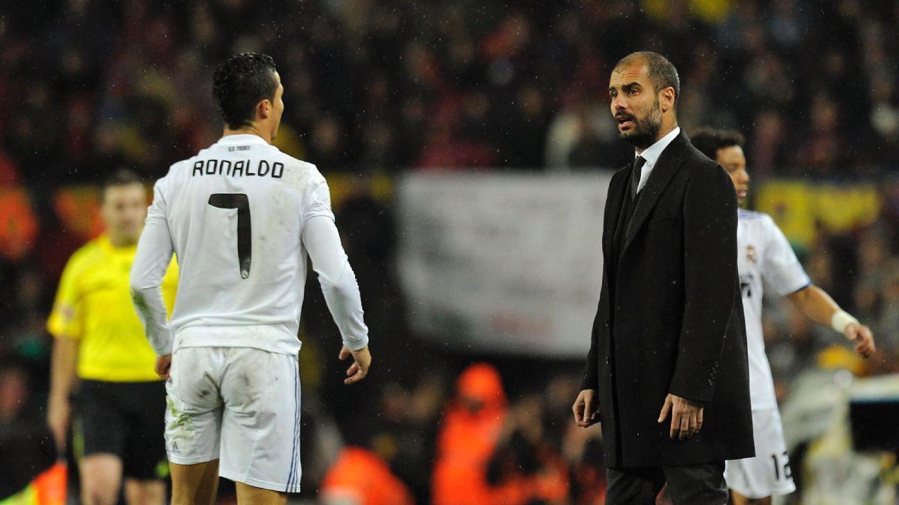Cristiano Ronaldo & Josep Guardiola