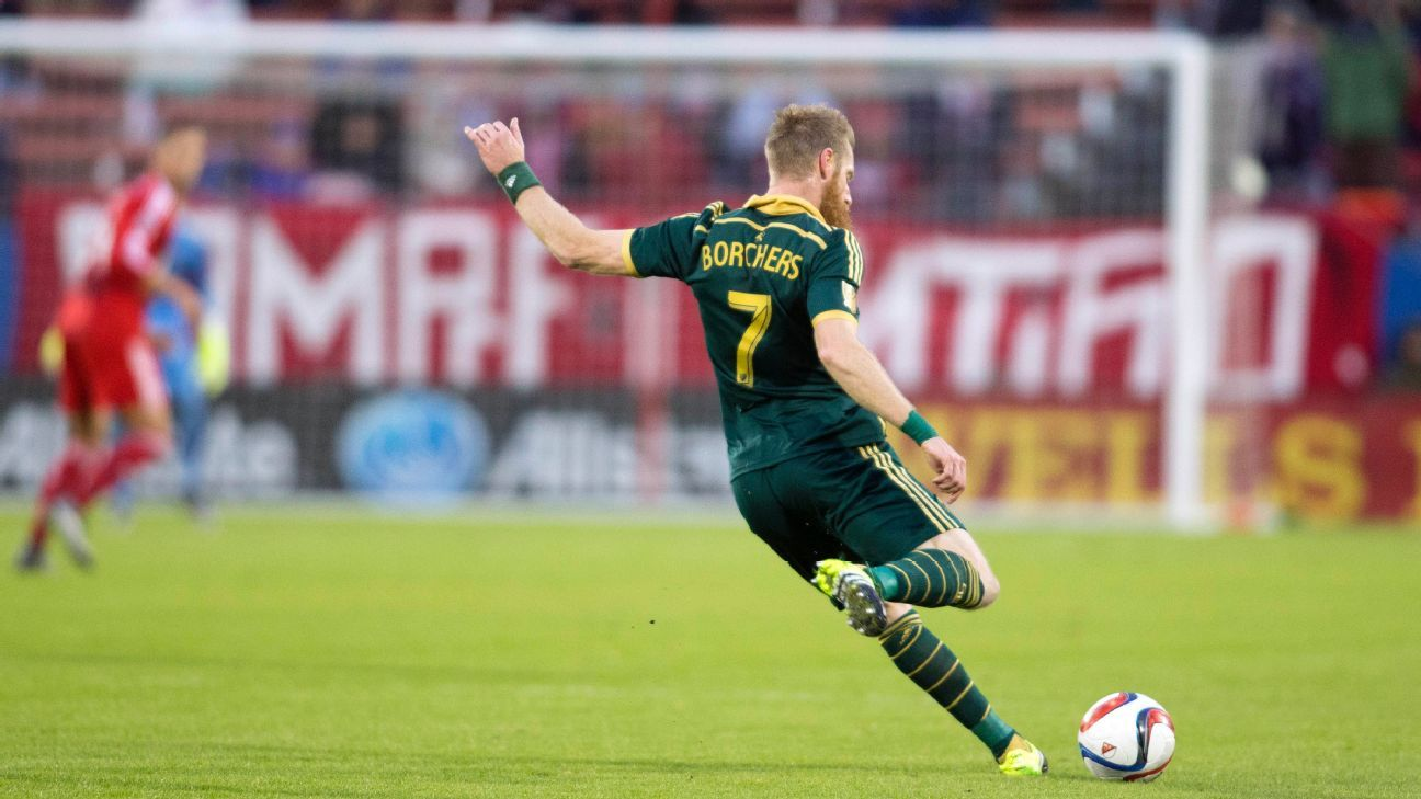 Nat Borchers Portland Timbers