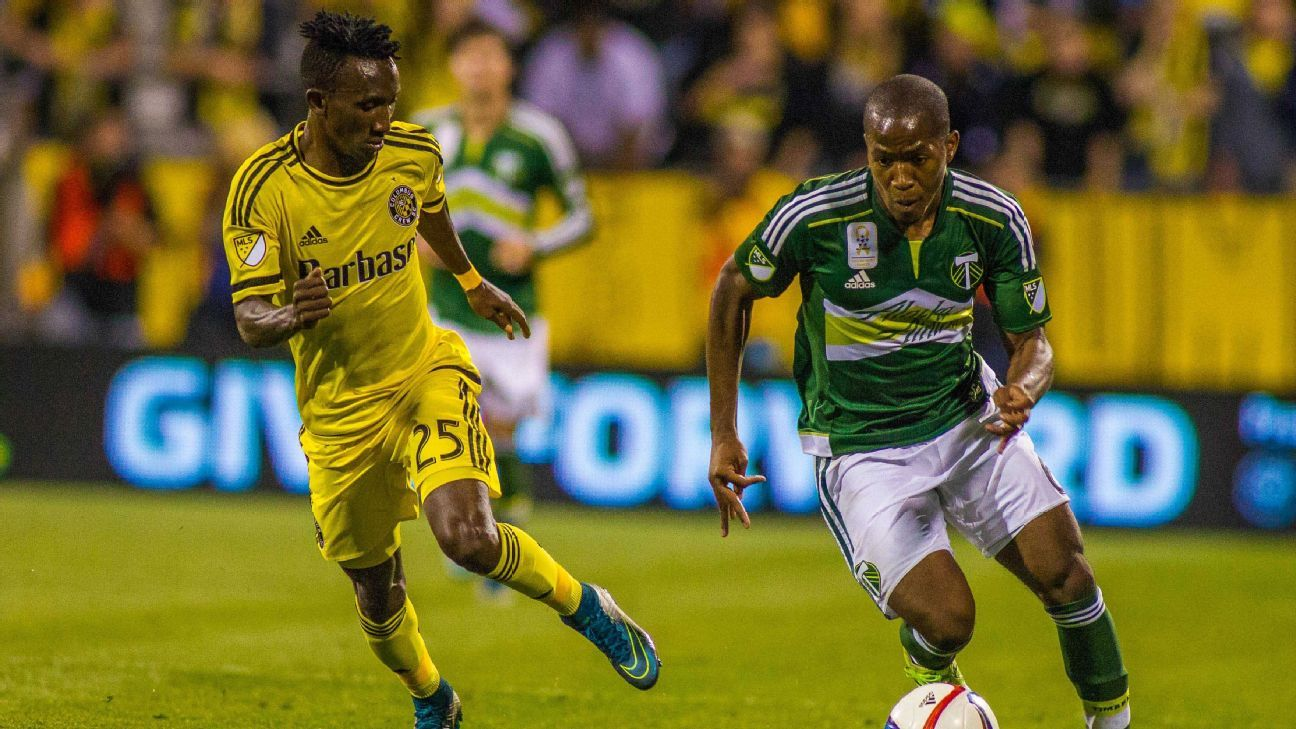 Harrison Afful and Darlington Nagbe