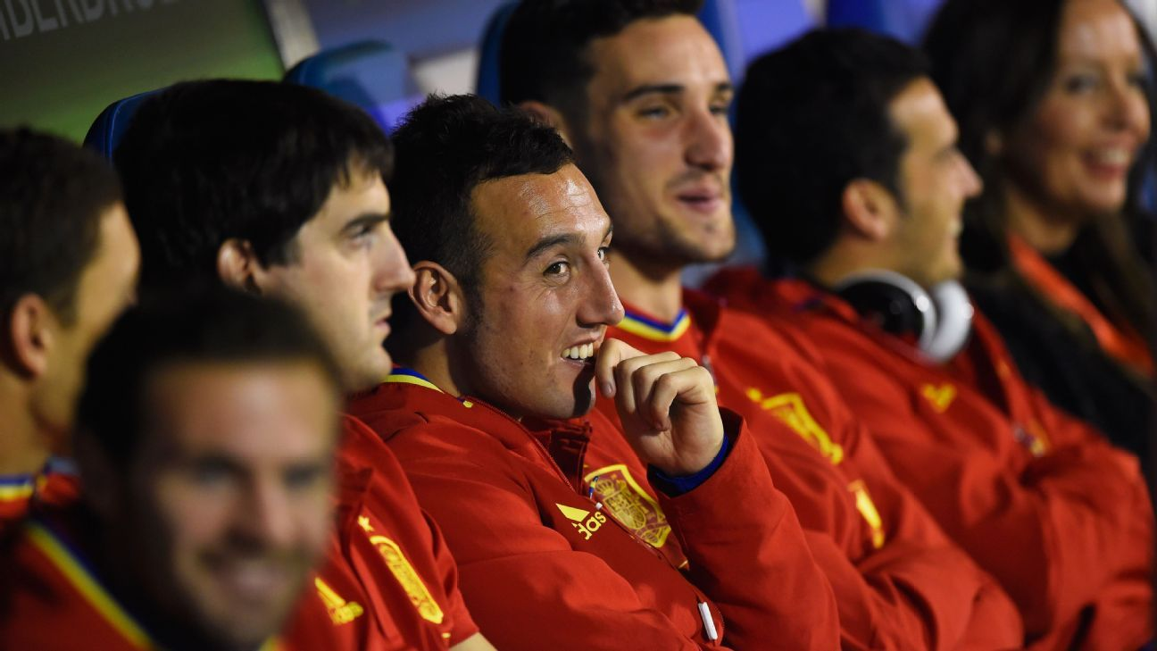 Spain bench