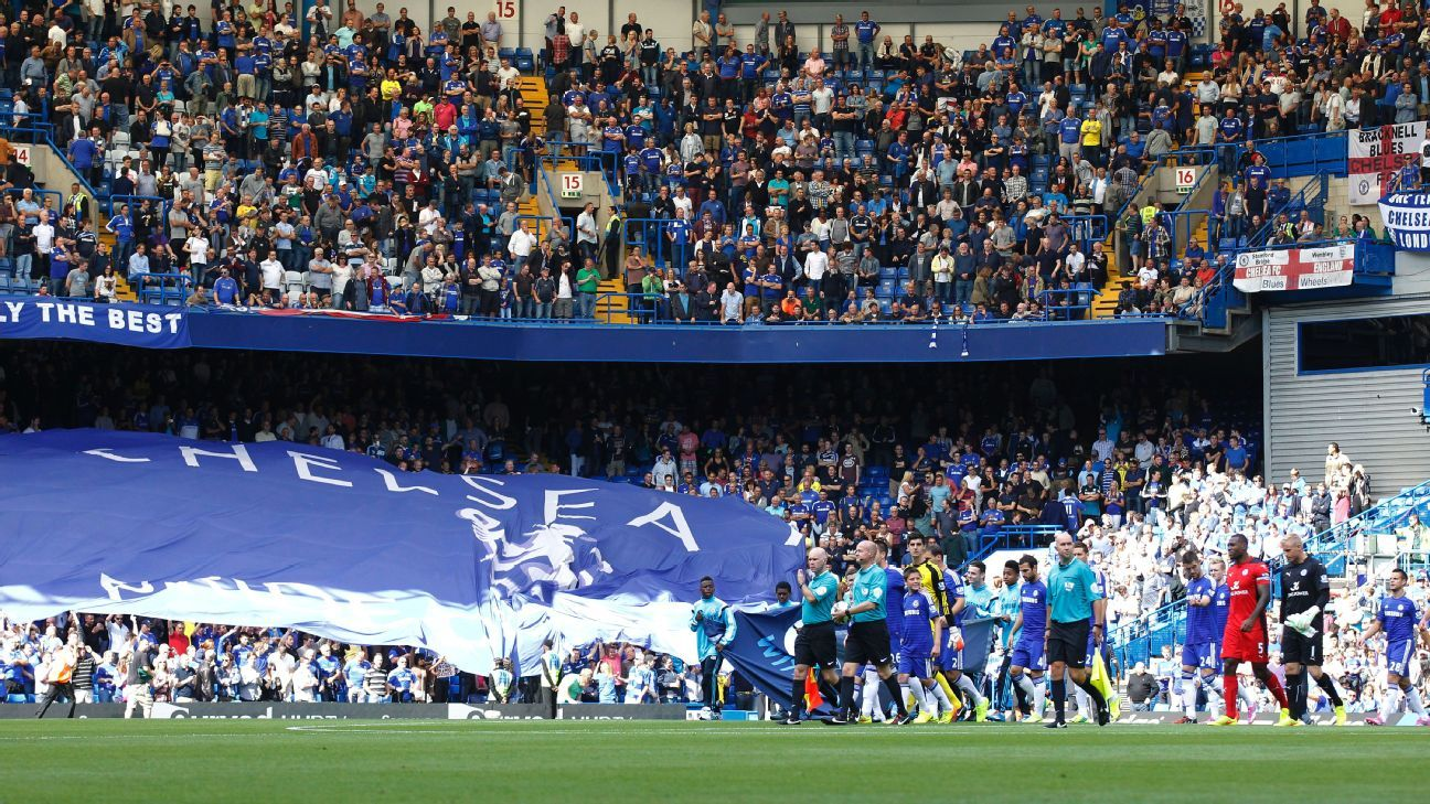 Despite their team's below-par performances this season, Chelsea fans continue to fill Stamford Bridge.