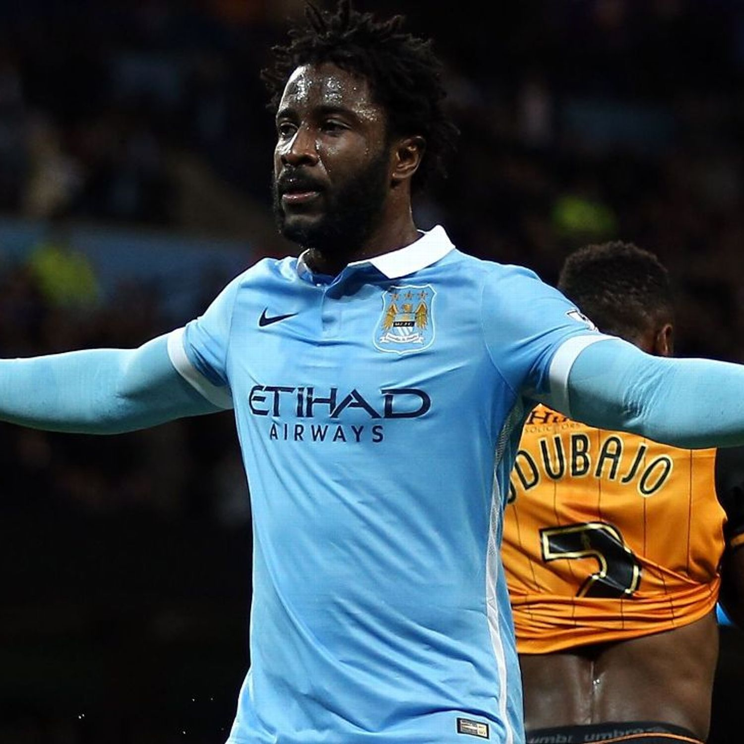 Wilfried Bony Injury Rules Man City Striker Out Of