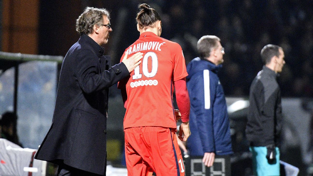 Zlatan Ibrahimovic Paris Saint Germain 20151129