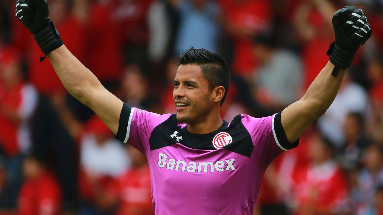Toluca goalkeeper Alfredo Talavera will need to be at his best in the two semifinal matches against Tigres' high-powered attack.