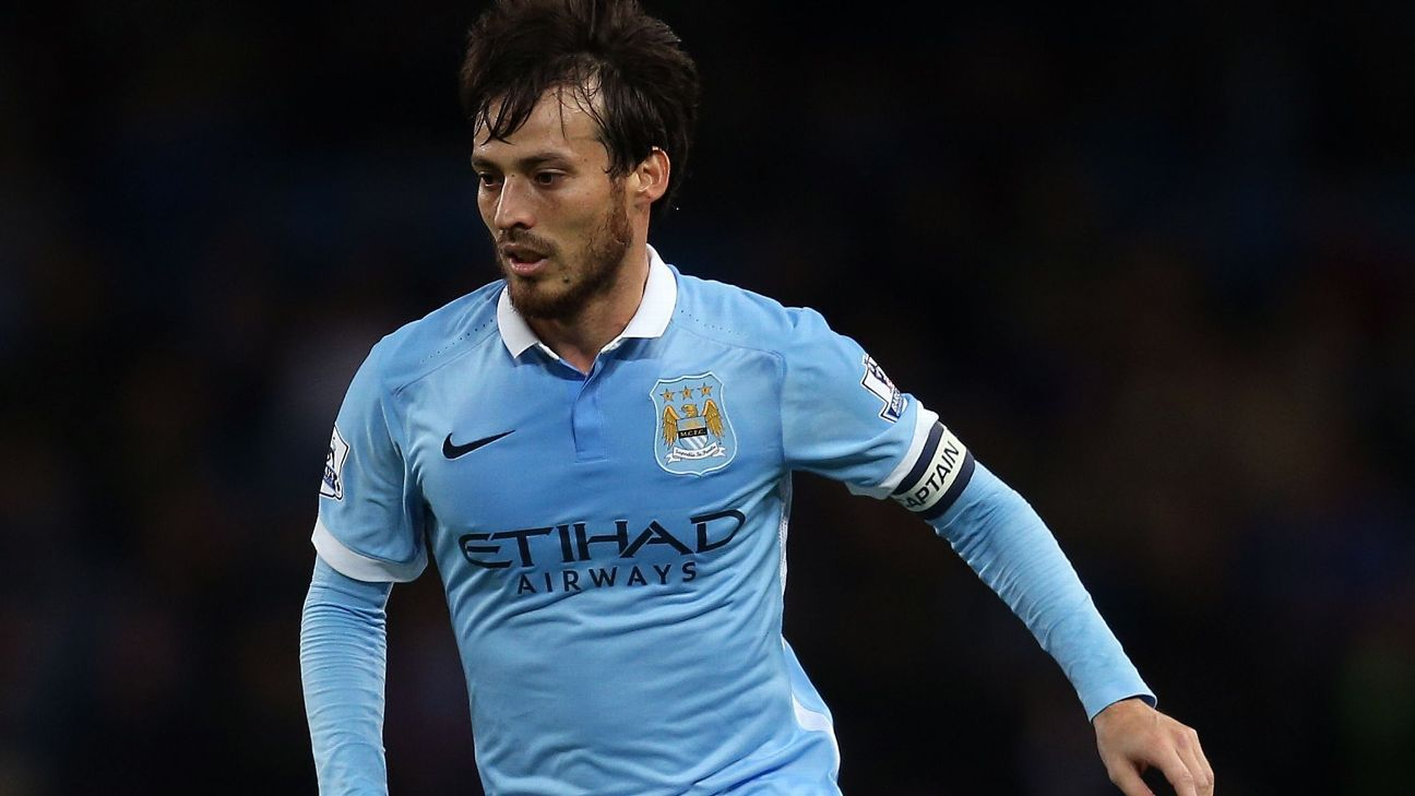 David Silva made his first start since Oct. 3 for Manchester City in Tuesday's 4-1 win over Hull.
