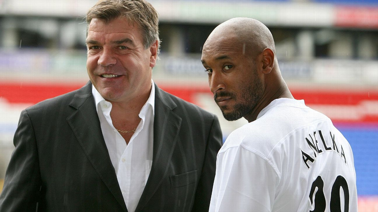 With Nicolas Anelka in tow, Sam Allardyce's Bolton flirted with a Champions League finish during the 2006-07 season.