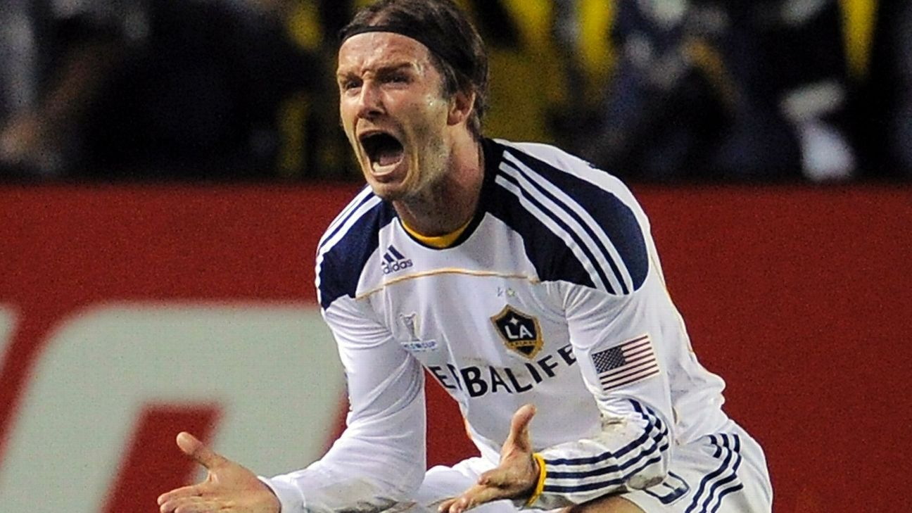 Beckham LA Galaxy 2011