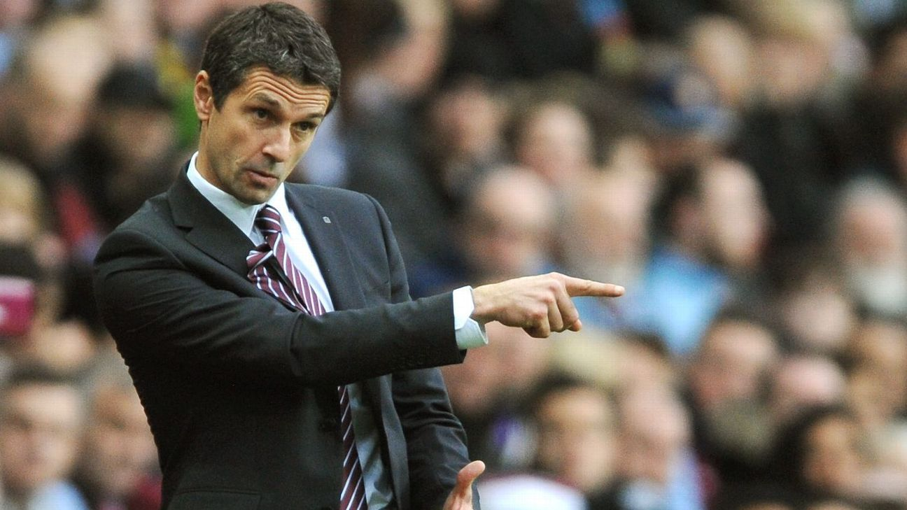 Aston Villa boss Remi Garde will have to shuffle his back line for Southampton.