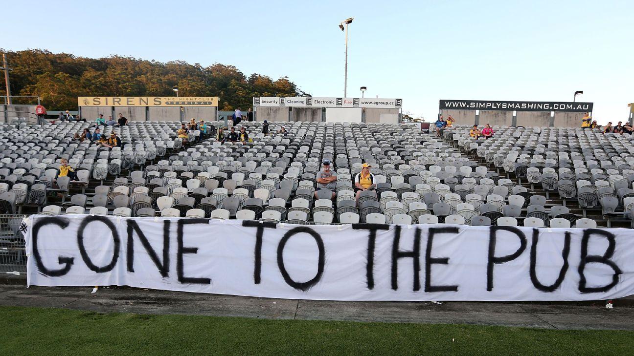 Absent A-League fans