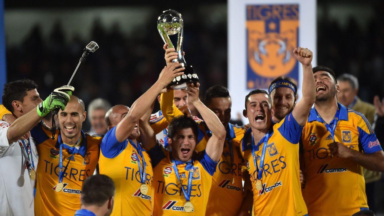 Tigres celebrate Apertura win
