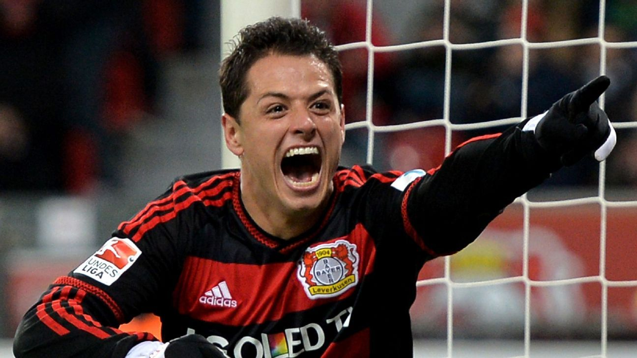 Chicharito Hernandez will look to resume his goalscoring ways against Hannover.