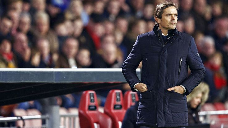 Philip Cocu leaves PSV after five years as permanent manager.