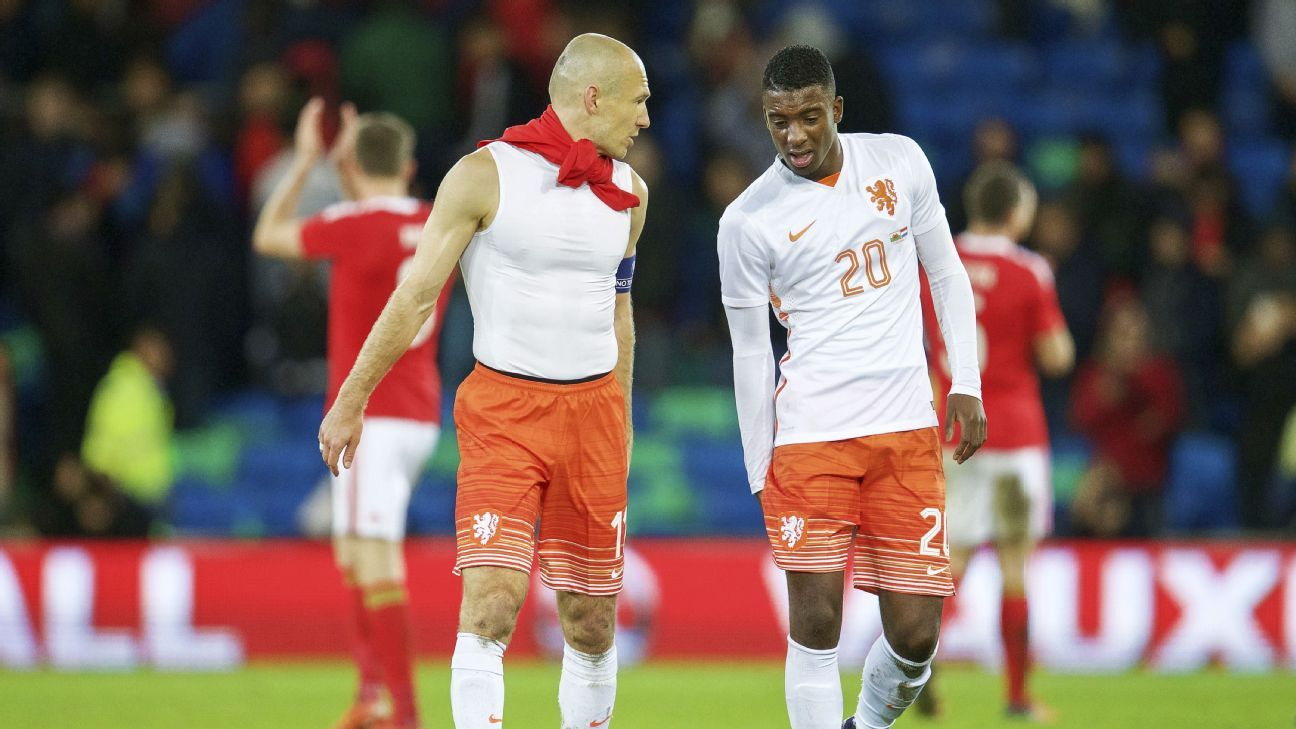 Arjen Robben & Riechedly Bazoer