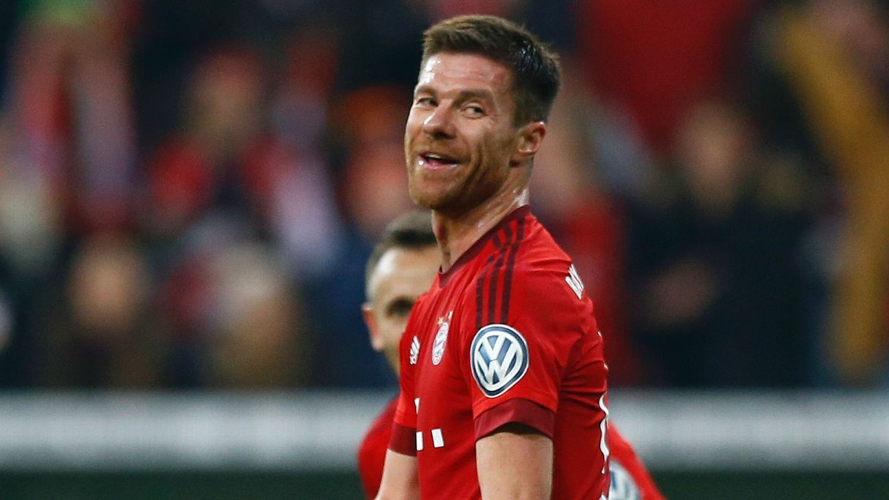 Xabi Alonso's volley lit up what was otherwise a turgid evening in Bayern's cup win.