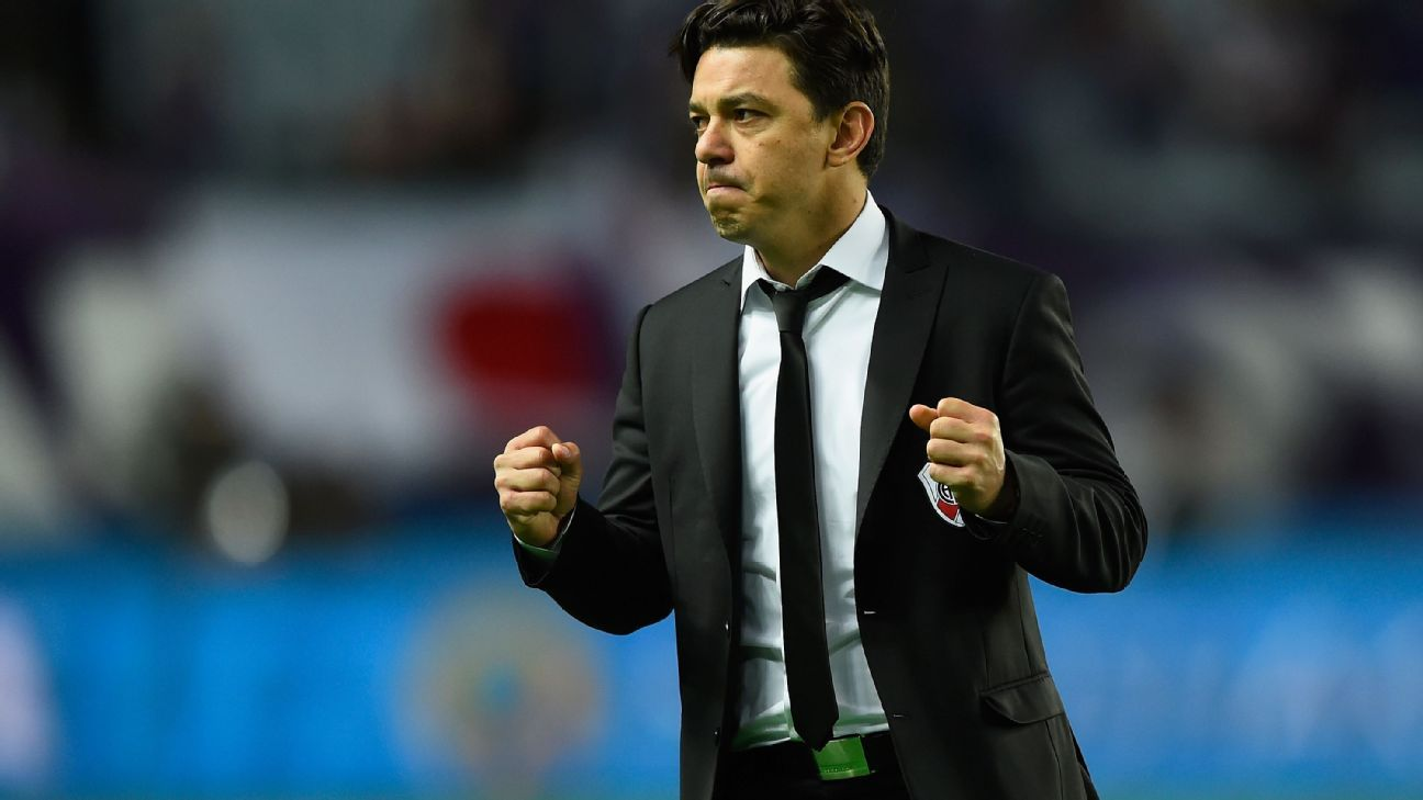 Marcelo Gallardo's River Plate summoned up just enough to earn a potential dream final with Barcelona.