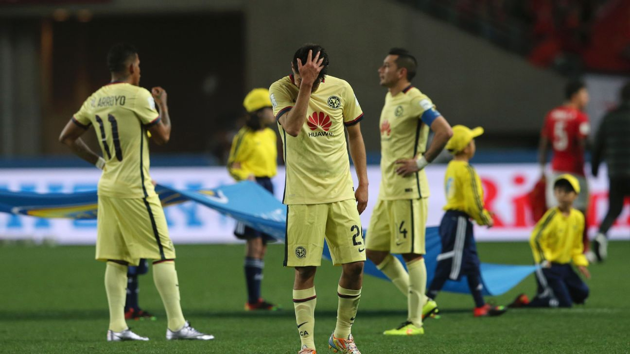 Any thoughts of a dream semifinal with Barcelona came to a crashing halt for Club America after their quarterfinal defeat to Guangzhou Evergrande.