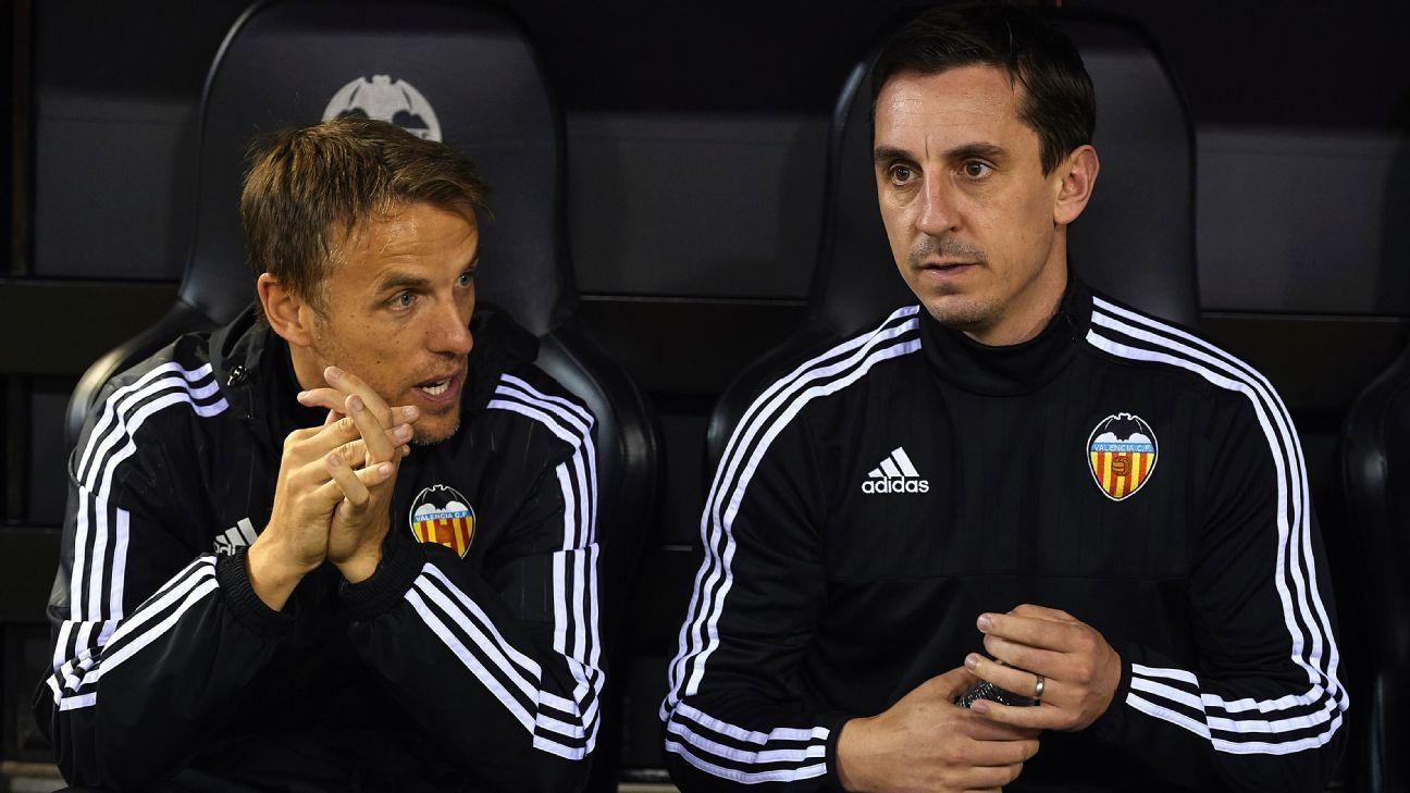 Gary Neville Copa del Rey